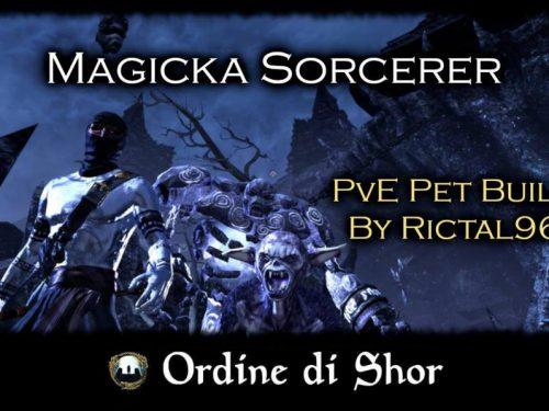 build sorcerer magicka Archivi - Ordine di Shor, Gilda